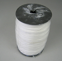 White Braided Blind Cord 1 2mm 250m Roll Bcordw250