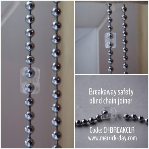 Merrick Amp Day Chbreakclr Breakaway Safety Blind Chain Joiner