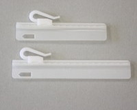 Adjustable Sew In Pinch Pleat Hook 95mm Hookadj95