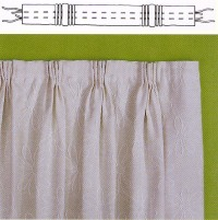 50 PIN IN HOOKS CURTAIN HOOKS French Pinch pleat fabric hook Workroom sundries