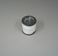 White braided blind cord 1.2mm. 100m roll