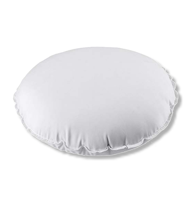 Duck Feather Round Box Cushion Pads