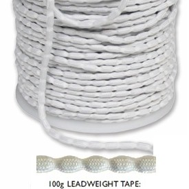 Lead Weight Tape 100g To Sew Into Curtain And Blind Hems