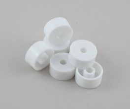 White Nylon 10mm In Spacers Spacer
