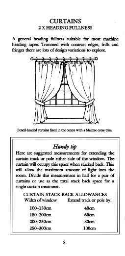 Fabric Quantity Handbook - Metric